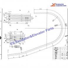 <b>XBA402ALY4 Escalator Guide Rail</b>