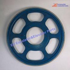 <b>GAA265AL1 Escalator Friction Wheel</b>