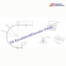 <b>KM5323989G09 Escalator Handrail Guide</b>