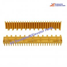 <b>ASA00B038-MS-800 Escalator Yellow Step Cleat</b>