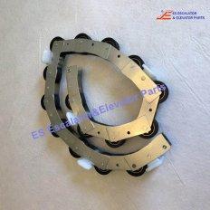 <b>SMH405816 Escalator Reversing Chain 15 Rollers Balustrade</b>
