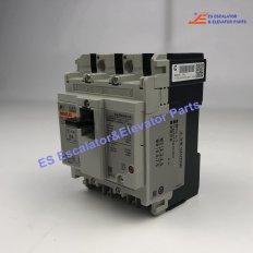 <b>BW50EAG 3P020 Escalator Fuji Circuit Breaker</b>