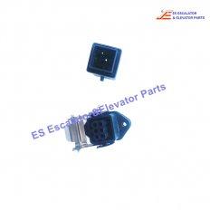 <b>XAA618DR2 Escalator Inspection Box Steel Plug</b>