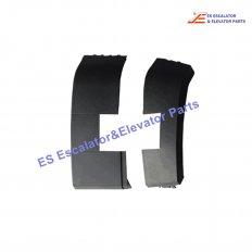 <b>405797 Escalator Handrail Inlet Cover</b>