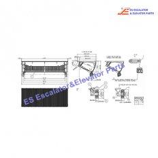 <b>KM51163745G19 Escalator Step</b>
