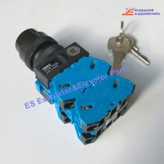 <b>DAA177NPJ1 Escalator Lock Key Switch Key 3 Position</b>