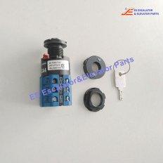 <b>GAA177HR1 Escalator Key Switch</b>