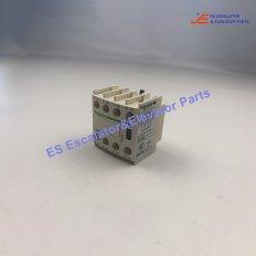 LADN04C Elevator Auxiliary Contact Block